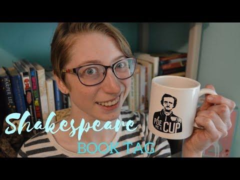 the Shakespeare Book Tag (with an Edgar Allan Poe mug)