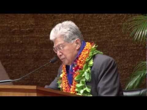 Senator Daniel K. Akaka Aloha Order of Merit Ceremony
