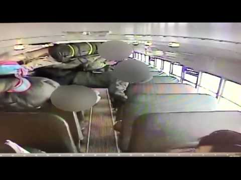 Video of Dayton school bus crash released