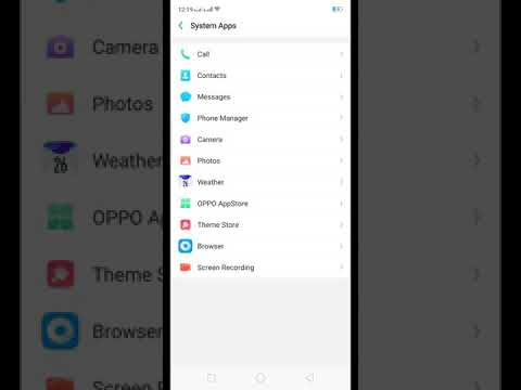 How to on call recording in oppo f9 pro