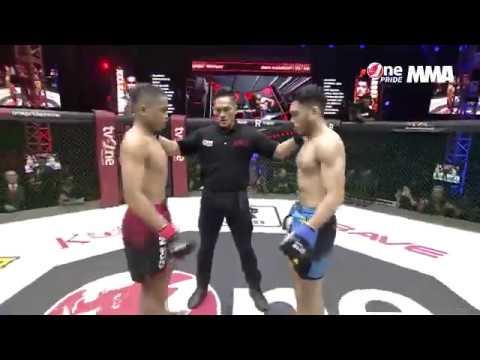 MMA HIGHLIGHTS JEKA VS ANGGA ( Mendapat Serangan Bertubi-buti Jeka Kalah Terhormat Di Ronde 4 )