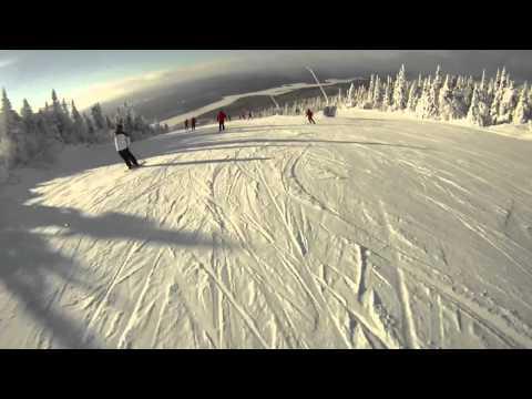 Snowboarding at Mont Tremblant Dec 16-18th 2010 - Gopro  HD