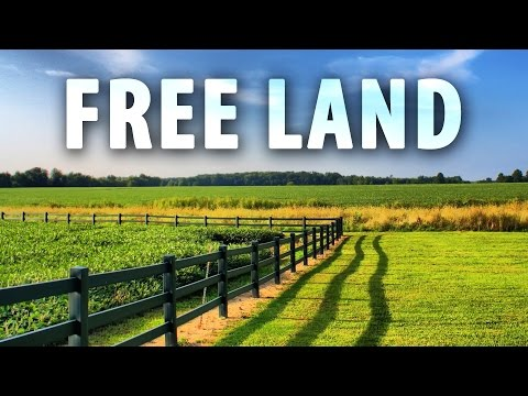 How To Get FREE LAND In America!