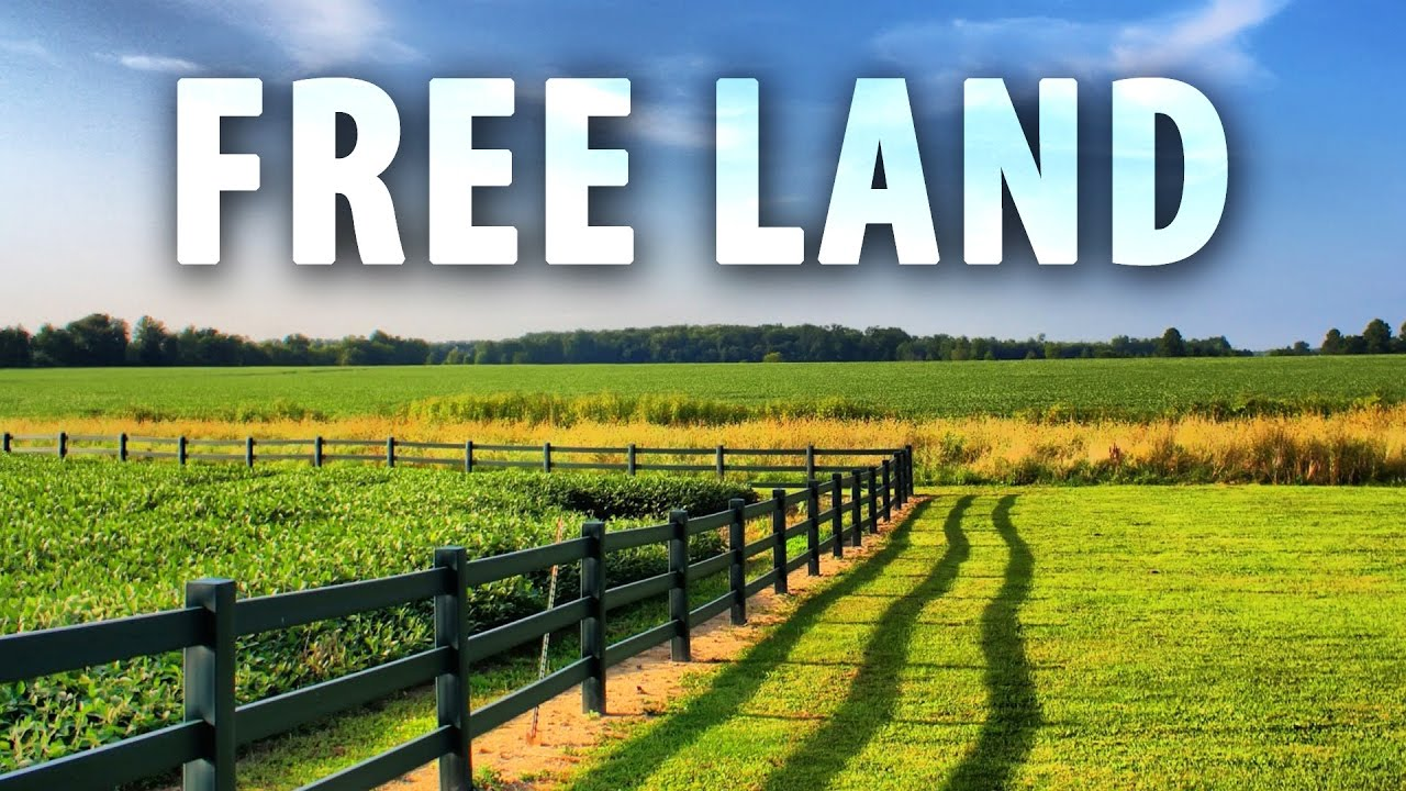 how to claim free land in america youtube