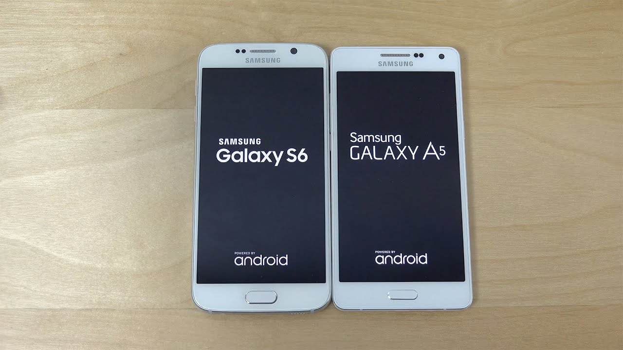 samsung galaxy s6 vs samsung galaxy a5 which is faster 4k youtube. Black Bedroom Furniture Sets. Home Design Ideas