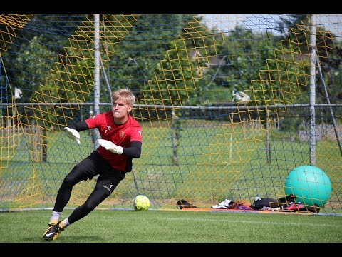 Goalkeeper Training FC Nordsjaelland SuperLiga