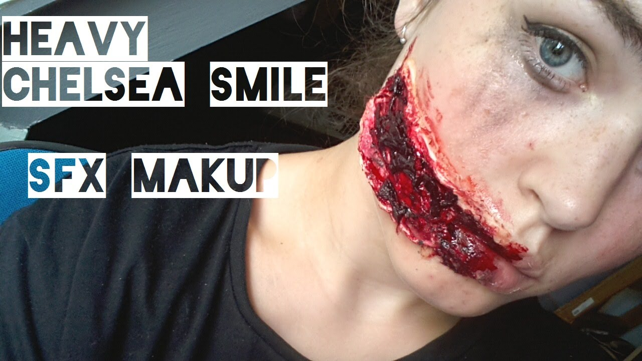 Chelsea Smile EXTREME | HALLOWEEN SFX MAKEUP TUTORIAL - YouTube