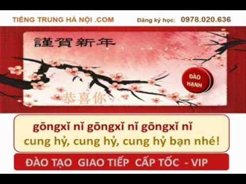 Happy New Year Chinese version: Vietsub bản đẹp HD - hoc tieng trung bài hát mừng năm mới hay nhất