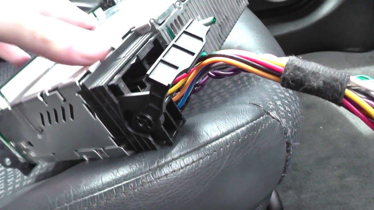 Bmw Mini Round 17 Pin To Flat 40 Pin Radio Harness