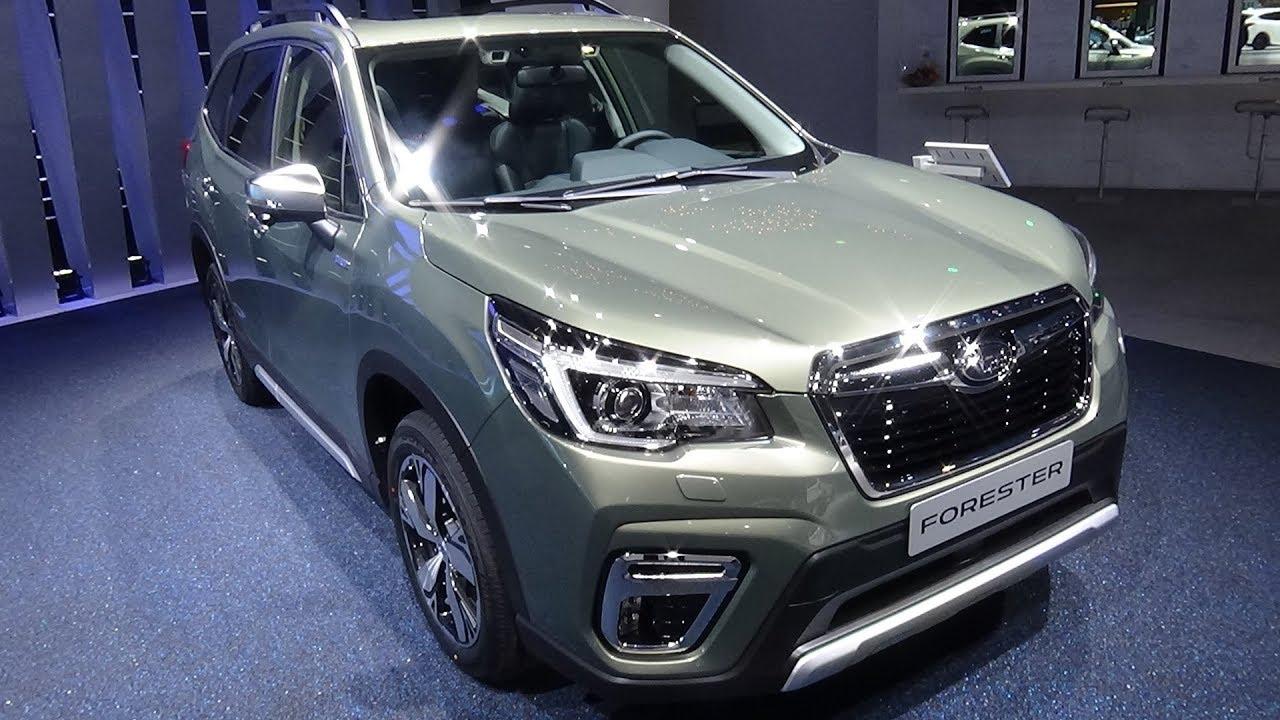 2019 Subaru Forester E Boxer Exterior
