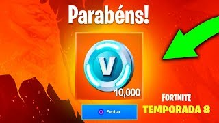 How to win up to 10,000 V-Bucks for free at Fortnite Season 8..!