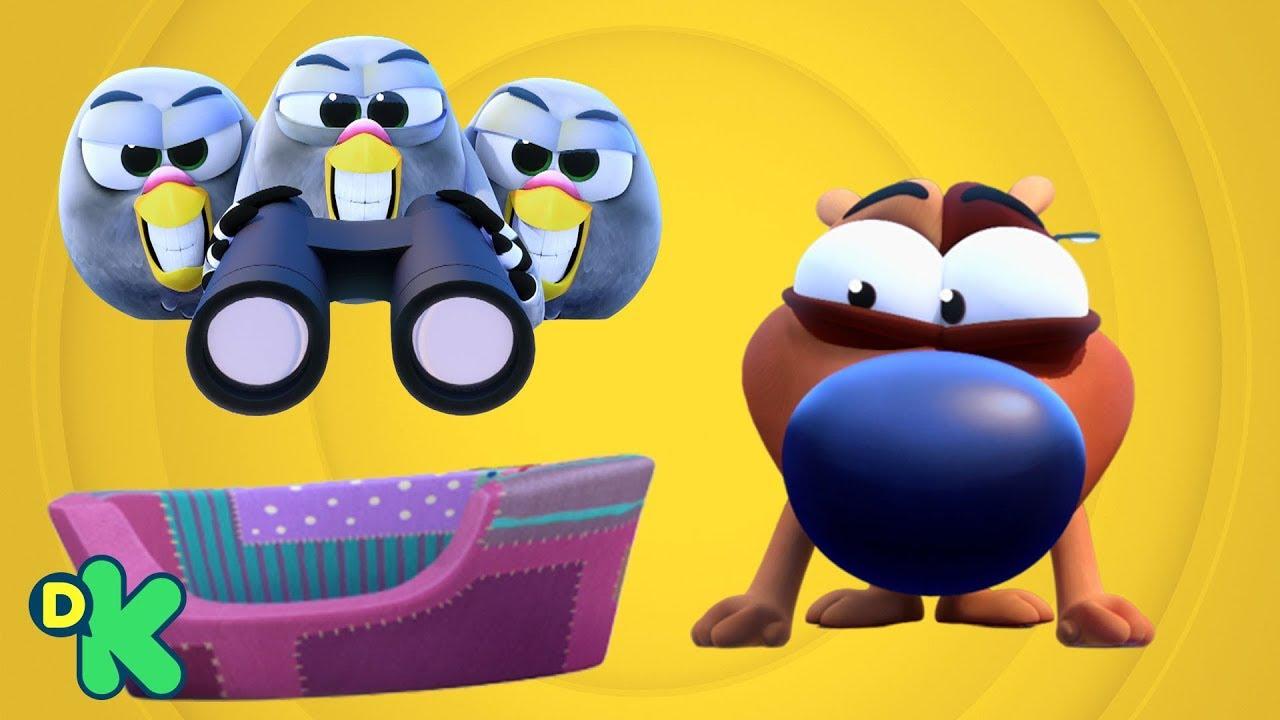 Download Cama macia e colorida para animais é tirada do Linguiça | Lelê e Linguiça | Discovery Kids Brasil