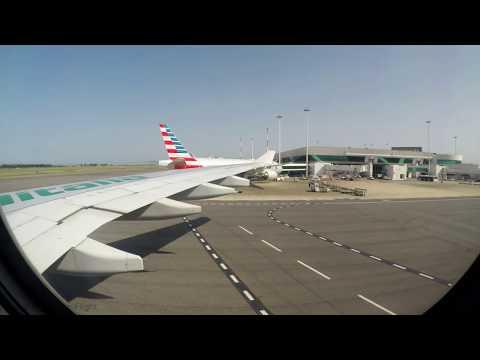 Alitalia A330-200 - Sunny Takeoff from Rome Fiumicino Airport to Chicago O'hare