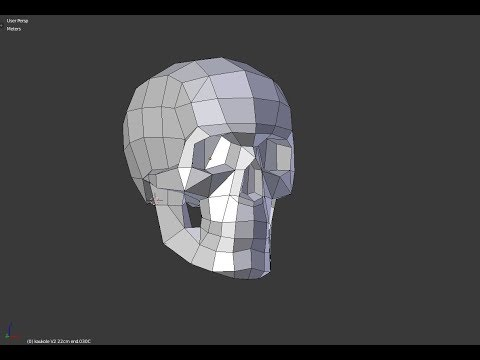Make your own Paper Skull - Step By Step by Paperstatue