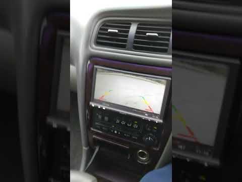 Парктроник и камера заднего вида на Chaser 100