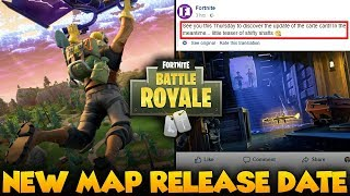 NEW CITY RELEASE DATE: Fortnite Battle Royale NEW Map Update Release Date