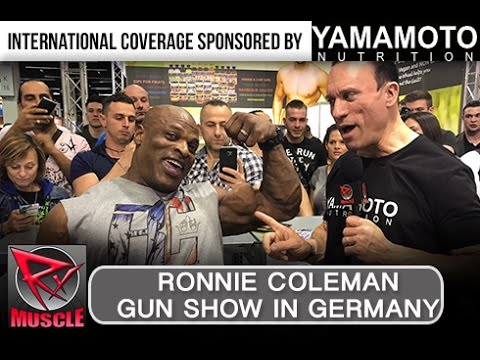RONNIE COLEMAN AT FIBO 2017! (Powered by Yamamoto Nutrition)