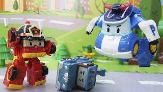 Мультики про машинки. Игрушки Робокар Полли у видео для детей 2017! Мультфильмы все серии подряд