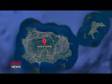 Quake Destroys Buildings on Italian Island of Ischia, at Least 1 Dead