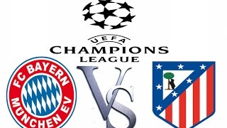 BAYERN MUNICH VS ATLETICO MSDRID 2-1 FULL MATCH HIGHLIGHTS SEMIFINAL UEFA CHAMPIONS LIGA