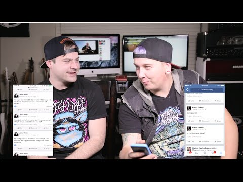 REACTING TO OLD CRINGY FACEBOOK POSTS