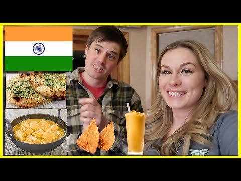 Americans Try Indian Food From Indian Restaurant