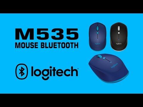 Unboxing y configuración del Mouse Bluetooth M535 Logitech - YouTube