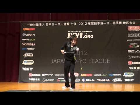 2012 Central Japan Yo-Yo Contest 2A Pre Hiraku Fujii