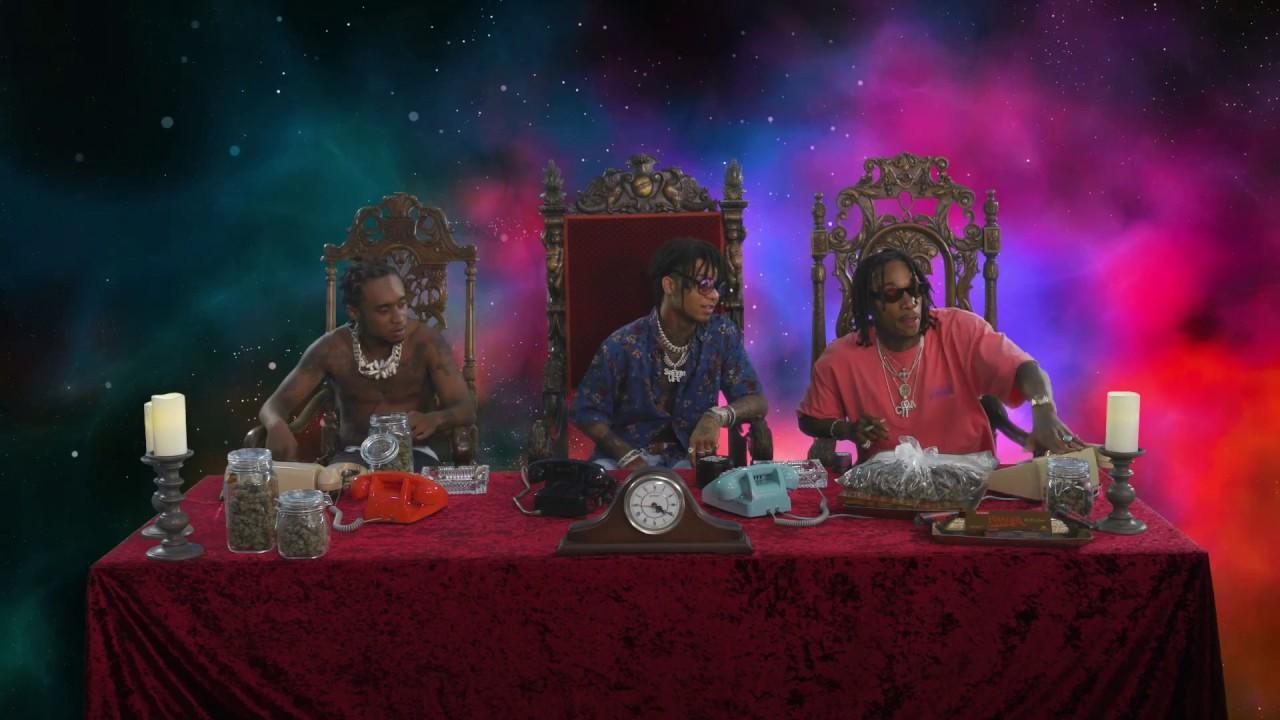 Wiz Khalifa and Rae Sremmurd s Dazed   Blazed Hotline - YouTube 81b895bb6