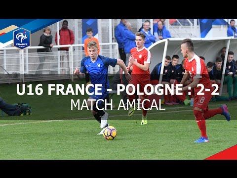 U16 : France-Pologne (2-2), les buts