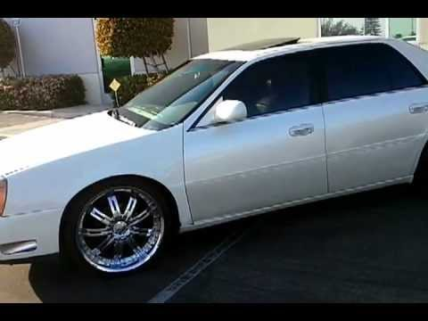 2002 Cadillac Deville Dts On 22 Inch Wheels Youtube
