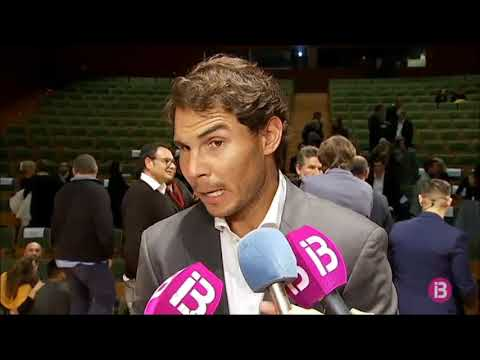 Rafael Nadal Interview at the Balearic Islands Sports Awards Ceremony, 22 Dec 2017