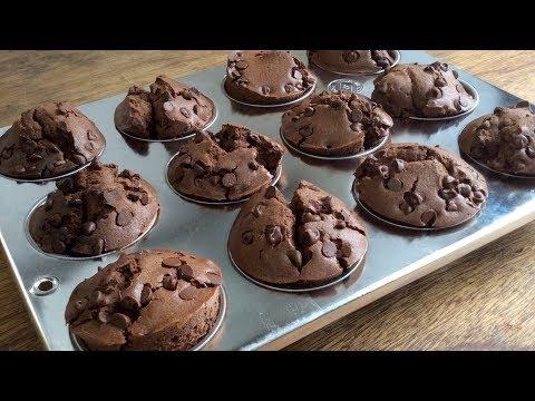 Chocolate Muffin #110 チョコマフィンの作り方。