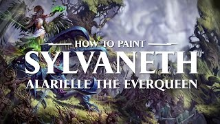How to paint Sylvaneth: Alarielle the Everqueen.