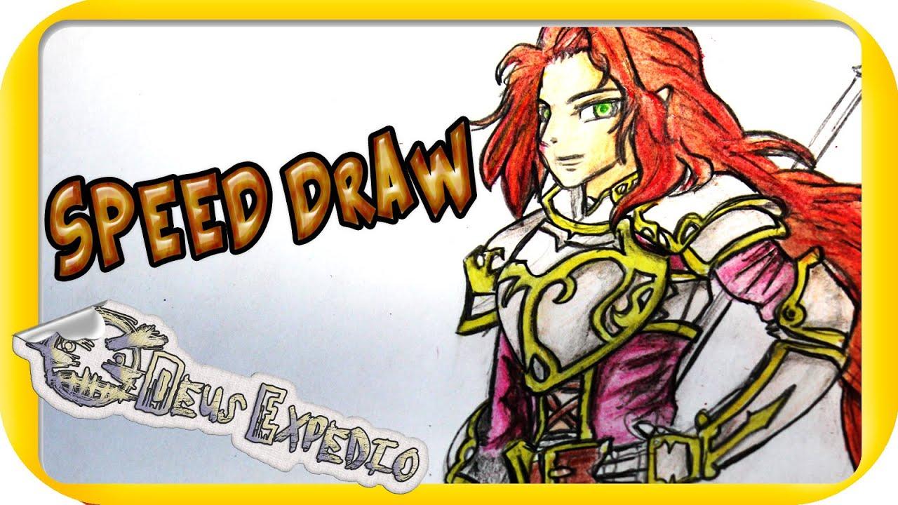 how to draw titania karmador