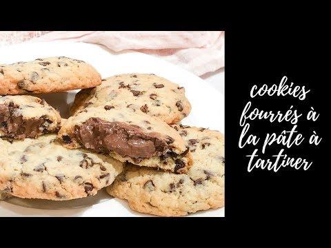 cookies-aux-pépites-de-chocolat-fourrés-au-nutella