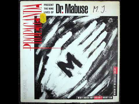 Propaganda - Dr. Mabuse Original 12 inch Version 1984