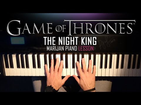 How To Play: Game Of Thrones - The Night King | Piano Tutorial Lesson + Sheets thumbnail