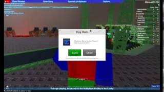 Lets play ROBLOX #0033 Flood Escape EASY
