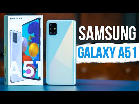 Samsung Galaxy A51 Обзор - НЕВЕРОЯТНЫЙ АПГРЕЙД (НЕТ)