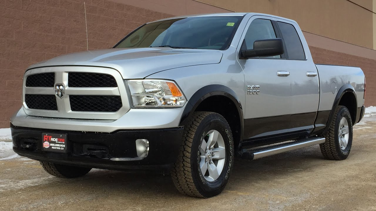 2014 ram 1500 outdoorsman 4wd satellite radio turn dial transmission great value youtube. Black Bedroom Furniture Sets. Home Design Ideas
