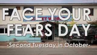 Face Your Fears Day - Adam Celebrates