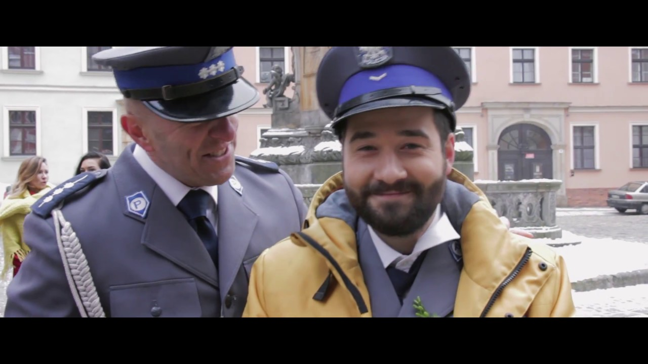 Policjantki I Policjanci Wielki Dzień Krzyśka I Emilki Youtube