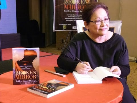Broken Mirror Book Launch at the Manila Grand Opera Hotel