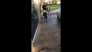 Kid Jokingly Threatens To Hose His Dad And Brother While He Washes The Car