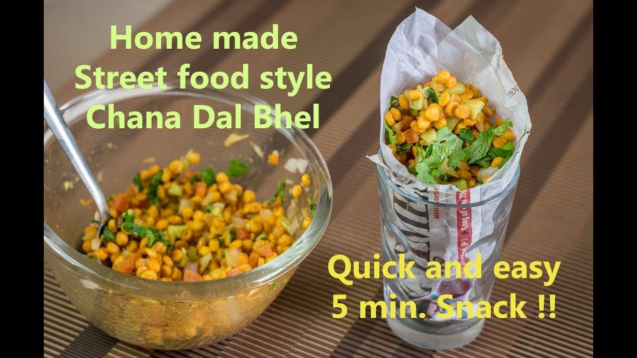 Chana dal bhel indian street food indian vegetarian recipes chana dal bhel indian street food indian vegetarian recipes chana dal namkeen forumfinder Images