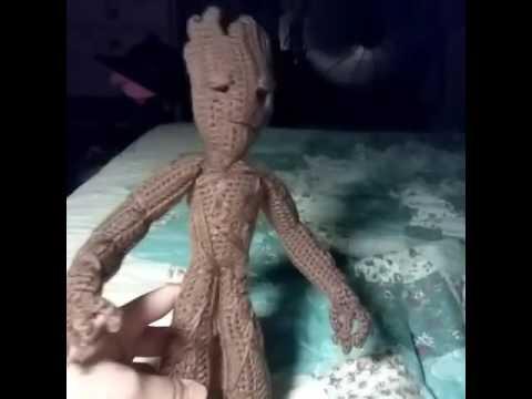 Crochet Baby Groot of Guardians of the Galaxy - Yarn Fix | 360x480