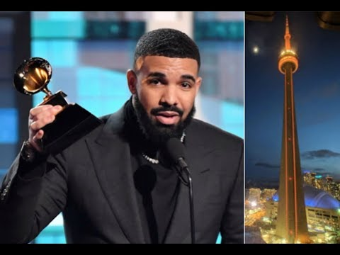 Drake Asks Toronto Mayor To Turn CN Tower Gold After Grammy Win and HE DOES IT Mp3