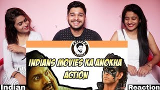 Indian Movies Ka Anokha Action By Awesomo Speaks | Khujli Family | Indian Reaction.