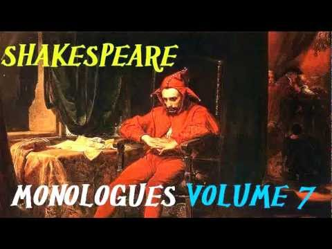 Best Shakespeare Monologues Volume 7 - FULL Audio Book - William Shakespeare for Actors and Theater
